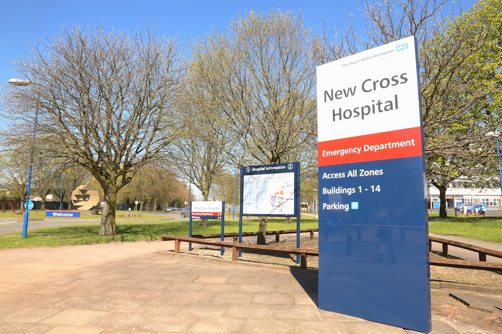 New Cross Hospital picture
